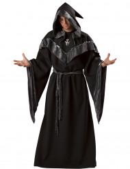 Costume da stregone dark per uomo