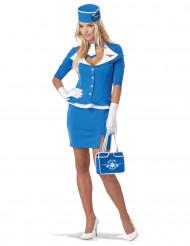 Costume da Hostess Air Bleu per donna