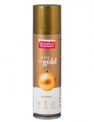 Bomboletta spray 150 ml colore oro