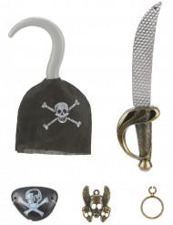 1 kit completo da pirata