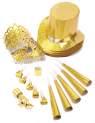 Kit per feste color oro