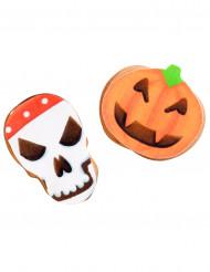 9 decorazioni di zucchero per biscotti di Halloween