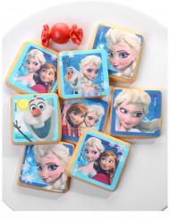 Decorazioni di zucchero per biscotti Frozen il regno di ghiaccio