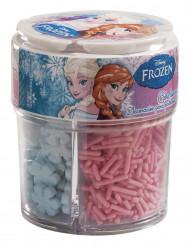 Scatola con 3 decorazioni di zucchero originale Frozen