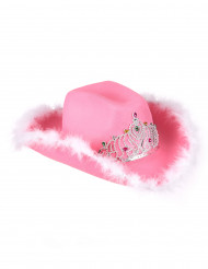 Cappello da Cowgirl in rosa per donna