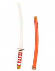 Spada ninja per bambino con fodera rossa