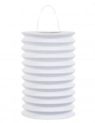 Lanterna cinese di carta bianca