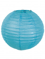 Lanterna giapponese blu 25 cm