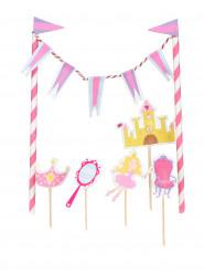Graziosa decorazione principessa per torta