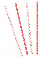 10 cannucce di cartone per San Valentino