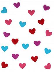 20 coriandoli per la tavola a forma di cuore
