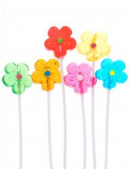 Bouquet di lecca lecca a forma di fiori colorati