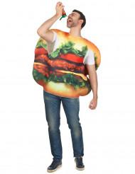 Costume da hamburger adulti