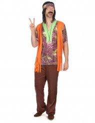Costume da hippie per adulto
