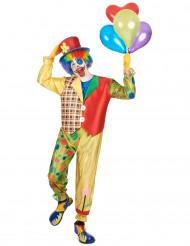 Costume clown da uomo