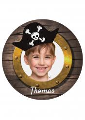 Disco di zucchero personalizzabile oblò pirata