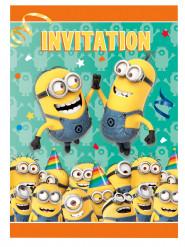 8 cartoncini invito festa Minions™