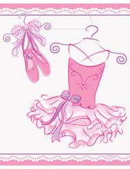 8 Sacchetti regalo Ballerina