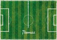 Foglio di zucchero A3 personalizzabile campo di calcio