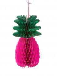 Ananas a nido d'ape fucsia 30 cm