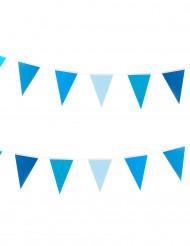 Ghirlanda con bandierine blu
