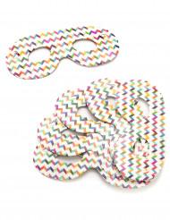 Confezione da 6 mascherine multicolore
