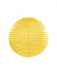 Lanterne giapponesi gialle 25 cm