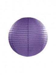 Lanterna giapponese viola 25 cm