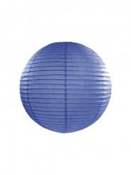 Lanterna di carta giapponese blu 25 cm
