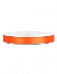 Nastro di raso arancione 6 mm x 25 m
