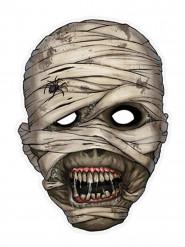Maschera da mummia in carta per Halloween