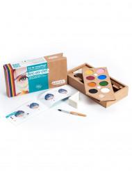 Kit trucco Bio 8 colori Arcobaleno