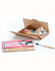 Kit tre colori make up principessa e farfalla
