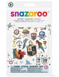 20 tatuaggi temporanei bambino Snazaroo™