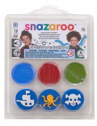 Mini kit di trucchi e timbri Snazaroo
