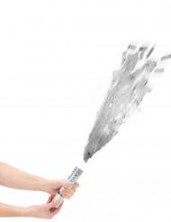 Cannone sparacoriandoli argento 20 cm