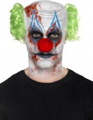 Kit trucco ed accessori da clown spaventoso adulto