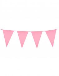 Festone bandierine rosa
