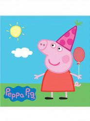 20 tovaglioli di carta con Peppa Pig™