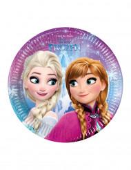 8 Piatti usa e getta Anna ed Elsa Frozen™