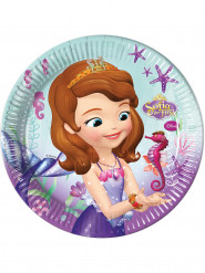 8 piatti in cartone Principessa Sofia™