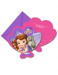 6 cartoncini d'invito di Sofia la principessa™