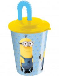 Bicchiere con cannuccia Minions™