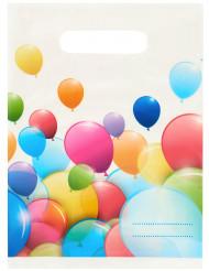 6 buste regalo palloncini