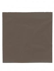 50 tovaglioli color cioccolato