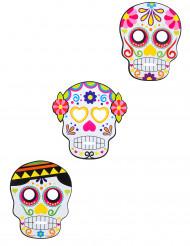3 maschere Dia de los muertos