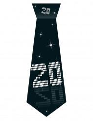 Cravatta in cartone munita di elastico 20 anni VIP