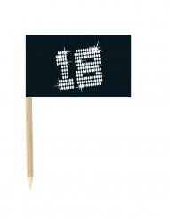 1o mini bandiere per compleanno 18 anni VIP