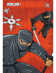 8 sacchetti regalo Ninja