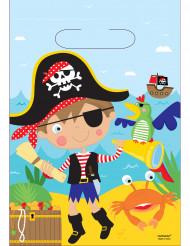 8 bustine regalo piccolo pirata